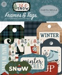 Let It Snow Frames & Tags Ephemera - Carta Bella