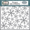 Frosted Window Panes Stencil - Carta Bella