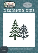 Snowy Pines Die Set - Carta Bella