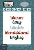 Wonderland Wishes Word Die Set - Carta Bella