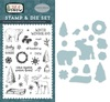 Cold Hands, Warm Heart Die & Stamp Set - Carta Bella