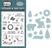 Cold Hands, Warm Heart Die & Stamp Set - Carta Bella