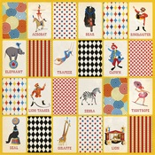 Three Ring Circus Paper - Circus - Carta Bella
