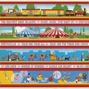 Border Strips Paper - Circus - Carta Bella