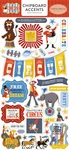 Circus Chipboard Accents - Carta Bella