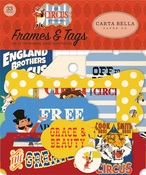 Circus Frames & Tags - Carta Bella