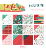 Jingle All the Way 6×6 Paper Pad - My Minds Eye