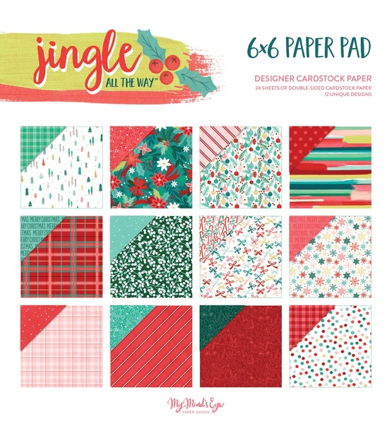 Jingle All The Way Paper Pack
