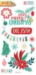 Jingle All the Way Chipboard Embellishments - My Minds Eye