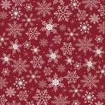 Let It Snow Paper - Winterberry - My Minds Eye