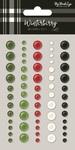 Winterberry Enamel Dots - My Minds Eye - PRE ORDER