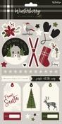 Winterberry Sticker Sheet - My Minds Eye