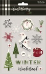 Winterberry Gel Stickers - My Minds Eye