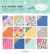 Well Hello 6×6 Paper Pad - My Minds Eye