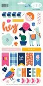 Well Hello Sticker Sheet - My Minds Eye