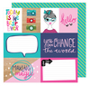 Exclusive Glitter Girl Paper Collection Kit - ACOT
