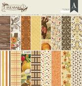Pleasant 12 x 12 Paper Pad - Authentique