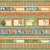 Gifting Gala Paper - Christmas Magic - Graphic 45
