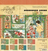 Christmas Magic 8 x 8 Paper Pad - Graphic 45