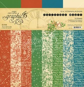 Christmas Magic Patterns & Solids - Graphic 45