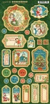 Christmas Magic Chipboard Pieces - Graphic 45