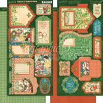 Christmas Magic Tags & Pockets - Graphic 45