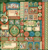 Christmas Magic Sticker Sheet - Graphic 45