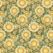 Sunlit Petals Paper - Garden Goddess - Graphic 45