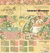 Garden Goddess 8x8 Paper Pad - Graphic 45