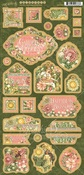 Garden Goddess Chipboard - Graphic 45 - PRE ORDER
