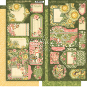 Garden Goddess Tags & Pockets - Graphic 45