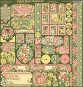 Garden Goddess Stickers - Graphic 45