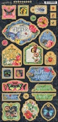Flutter Chipboard - Graphic 45 - PRE ORDER