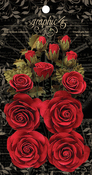 Triumphant Red Rose Bouquet Collection - Graphic 45