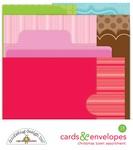 Christmas Town Cards & Envelopes - Doodlebug