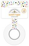 Spooky Sprinkles Washi Tape - Pumpkin Party - Doodlebug
