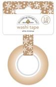 White Christmas Washi Tape - Christmas Town - Doodlebug