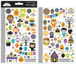 Pumpkin Party Mini Icon Sticker Sheet - Doodlebug