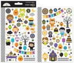 Pumpkin Party Mini Icon Sticker Sheet - Doodlebug - PRE ORDER