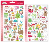 Christmas Town Mini Icon Sticker Sheet - Doodlebug