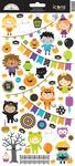 Pumpkin Party Sticker Icon Sheet - Doodlebug