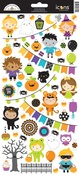 Pumpkin Party Sticker Icon Sheet - Doodlebug