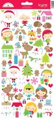Christmas Town Icon Sticker Sheet - Doodlebug