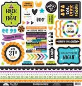 Pumpkin Party This & That Sticker Sheet - Doodlebug