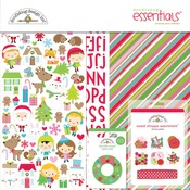 Christmas Town Essentials Kit - Doodlebug
