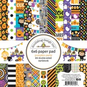 Pumpkin Party 6 x 6 Paper Pad - Doodlebug