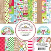 Christmas Town 6 x 6 Paper Pad - Doodelbug