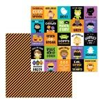 Fun House Paper - Pumpkin Party - Doodelbug
