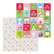 Festive Flurry Paper - Christmas Town - Doodlebug