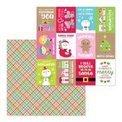 Christmas Jammies Paper - Christmas Town - Doodlebug